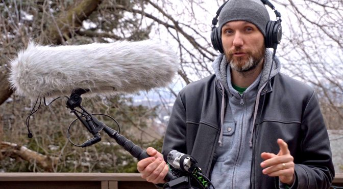 My new Indie Audio Kit | Auray Boom Pole & DigitalFoto Micolive Mic Blimp