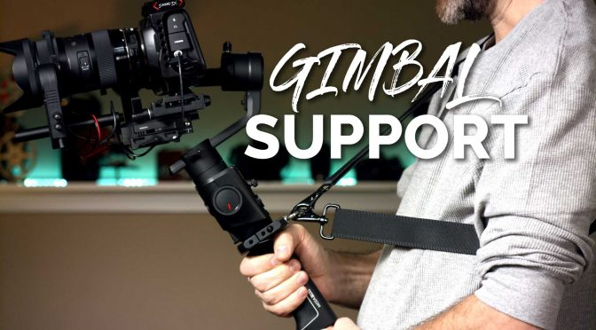Handy accessory for DJI Ronin-S, Zhiyun Crane 2 and other gimbals