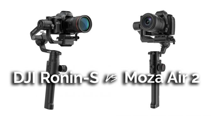 Gimbal Wars! DJI Ronin-S vs Moza Air 2