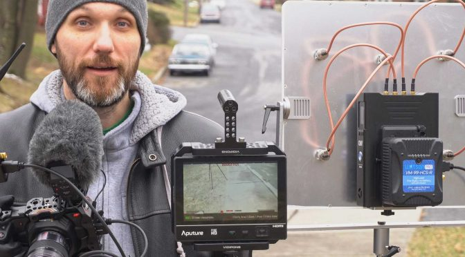 Crazy long range wireless video kit with multiple cameras