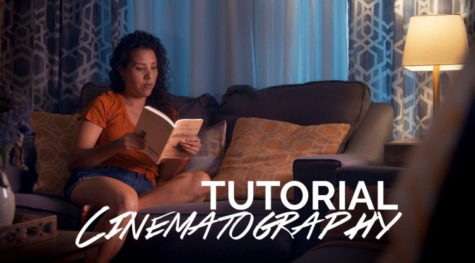Interior Night Lighting Cinematography Tutorial with Thunder Effect