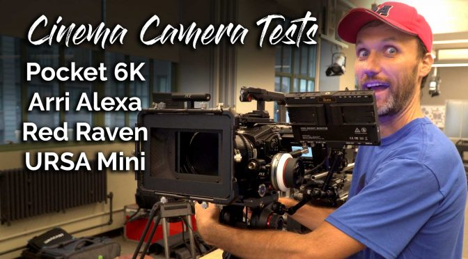 2019 Cinema Camera Test Results