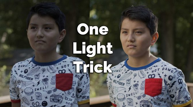 How to light a shot using just 1 light (or no lights)