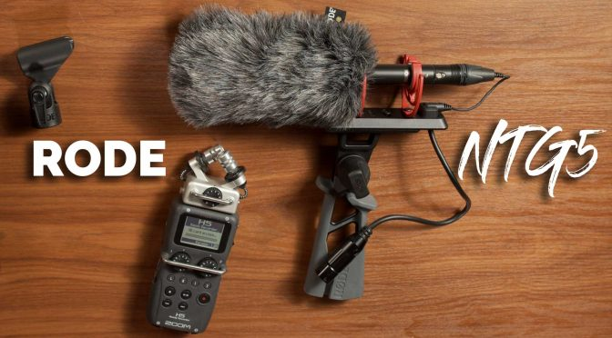 Shotgun Mic for Indie Films, TV & Docs