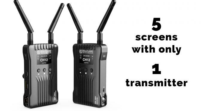 Hollyland Mars 400S Wireless Video System Showcase