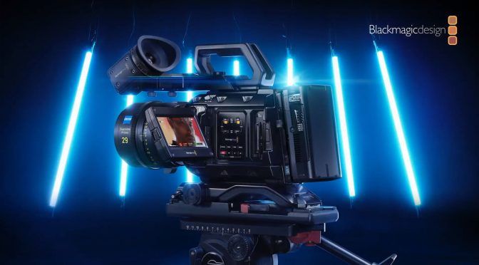 Meet the new 12K camera from Blackmagic Design!
