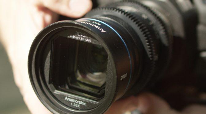 Sirui 35mm Anamorphic F1.8 Lens