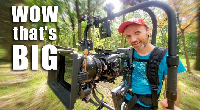 Cinema camera gimbal rig on a budget!