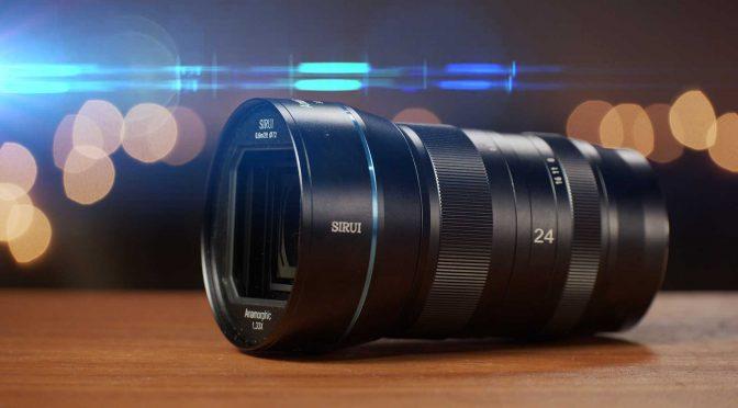 24mm F2.8 Sirui Anamorphic 1.33x Lens