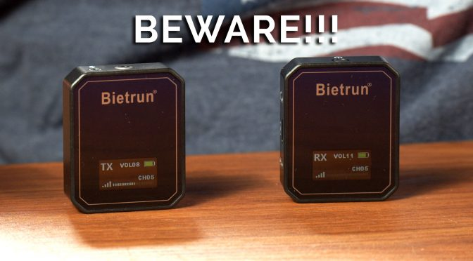 Cheap isn't always the best deal. Review of the Bietrun Small Wireless Mic.