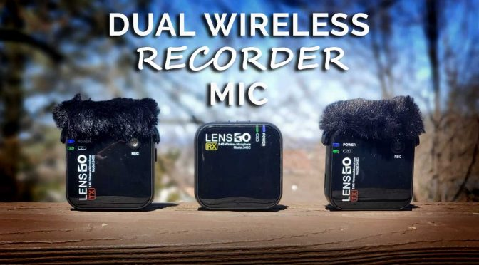 LensGO Dual Wireless Mic & Recorder