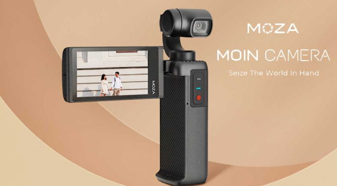 MOIN | Pocket-Sized Camera with a Gimbal from Moza